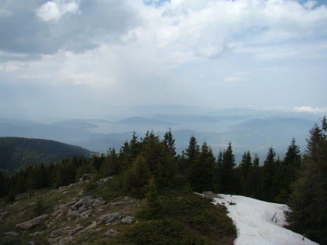 Гледка от върха на Баташки снежник